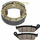 Front Brake Pads & Rear Shoes for Honda VT600Cd VT600Cd2 Shadow 600 VLX Deluxe
