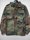 Field Jacket, M65, Cold Weather, Woodland, Military Issue Size: Medium - Regular