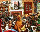NEW 1000 PIECE JIGSAW PUZZLE DOG HOUSE SHRINKWRAPPED MINT CONDITION