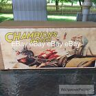 1950's Tin Champion 98 Racer Japan Sanyo Yonezawa Box Only Repro