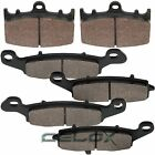 Front Rear Brake Pads for Suzuki VL1500 Intruder 1500 LC 2002 2003 2004
