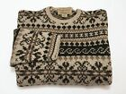 Abercrombie & Fitch M Men's 100% Wool Long Sleeve Crewneck Sweater Medium