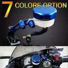 Multi-Color Universal Front Brake Fluid Oil Reservoir For Yamaha YZF R1 R6