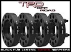 4 Pc Toyota 125 Thick Hub Centric Wheel Spacers Tacoma Tundra 4 Runner Black