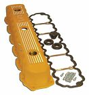 Jeep (Various Models) 4.0L Engine Aluminum Valve Cover - Yellow