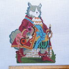 Handpainted Needlepoint canvas Peter Ashe Puss in Boots cat