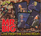 Mr. Big   Live from the Living Room  CD  FASTPOST