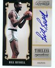 2012-2013 Timeless Signatures Bill Russell Auto #06 25 1of1 (Jersey Number)