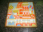 VINTAGE RUSSIAN MOSCOW RED SQUARE SAINT'S BASIL HAND PAINTED CERAMIC TILE