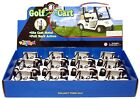 12 PCS Die Cast Metal Golf Club Cart Model With Club Pull Back action 5 inch