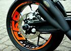 Wheel Rim Sticker Supermoto KTM Duke 690 IV 4 R 950 990 SM 3 Decal Tape Stripes