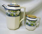 ROYAL DOULTON SET MERRYWEATHER Tea COFFEE POT  and CREAMER