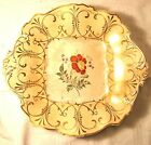 T & R Boote Pekin China hand decorated cake plate 19th century