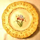 T & R Boote Pekin China hand decorated floral plates (6) 19th century
