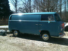 Volkswagen  Bus Vanagon 1968 vw panel bus double sliding doors tv featured rare