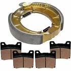 FRONT BRAKE PADS & REAR BRAKE SHOES Fits YAMAHA XJ700 XJ700X Maxim X 1985 1986