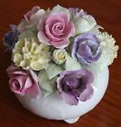 R Fine Bone China Beautiful Floral Arrangement