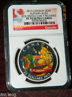 2013 CANADA $20 AUTUMN BLISS COLORED PROOF SILVER - NGC PF70 UC ER - VERY RARE!