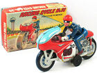 1960 Nomura Racing Cycle No. 30 Tin Toy Vintage Made in Japan Original Box