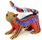 OAXACAN wood carving CHIPMUNK by ORLANDO MANDARIN - OAXACA