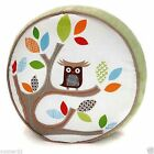 SKIPHOP Treetop Friends Round  Decor Pillow - Cozy, Plush Velour backing