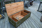 Vtg Russian Sniper Rifle wood Crate Box  Coffee Table Mosin Nagant M91/30