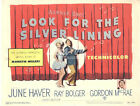 Look for the Silver Lining Lobby Card - Title Card - June Haver - 1949  - VF