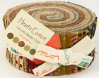 JELLY ROLL~HEARTS CONTENT PRINTS~40-2.5