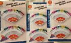 Lot Of 3 (36) Hijab assorted Colors Pins - Islamic Scarf Shayla Safety Pins