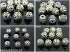 Vintage Patterned Tibetan Silver Spacer Connector Charm Beads 3 Hole Tibet Guru