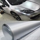12 x 60 Silver Brushed Aluminum Vinyl Film Wrap Sticker Decal Air Bubble Free