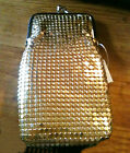 Eclipse Soft Mesh Gold Fashion Cigarette Case - Fits Up To 120s
