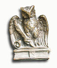 Bronze-clad Owl Bookends by J. Ruhl