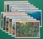 Complete Set of 12 NATURE OF AMERICA Sheets US Postage Stamps Sc  3293 4474