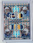 2015 Spectra Team Quads CHARGERS 4 CLR Patch Orange Refractor SP #3 3