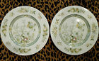 ROYAL DOULTON TONKIN T.C.1107 Set of 2 Dinner Plates INDIAN TREE 10 5/8