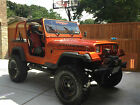 Jeep : Wrangler Base Sport Utility 2-Door 1992 jeep wrangler 6 lift with 35 mickey thompson tires