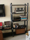 VINTAGE STEREO SYSTEM AND RETRO SPEAKERS