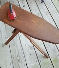 Vintage Wooden Child's Ironing Board & Lady Dover Jr. Iron