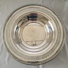 Beautiful Silverplated Serving Plate, Unmarked. 12
