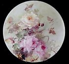 """FRANZ A BISCHOFF FABULOUS 1905 ROSES T&V LIMOGES 13-5/8"""" TRAY with FREE SHIPPING"""