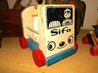 SIFO MILK TRUCK / Vintage wooden toy