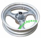 Silver 13 x 350 Front Disc Rim 3 spoke12mm axle for GY6 150cc Moped scooters