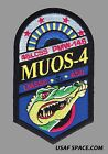 MUOS 4 ATLAS V LAUNCH 45 LCSS ULA ORIGINAL USAF DOD SATELLITE SPACE PATCH