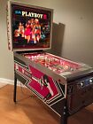Playboy Pinball Machine Excellent Bally Collectible Collector Quality