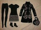 GO GRAPHIC Tonner Tyler Wentworth Doll OUTFIT Black White 2004 Tyler Wentworth