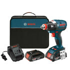 Bosch 18V Li Ion Socket Ready Impact Driver Kit w Soft Case IDH182 02 Recon