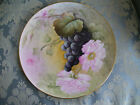 ½ Inch Grapes and Roses Tray/Plaque