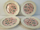 4 Set of a DINNER Plates MASON'S Ironstone china made in England Pink Floral