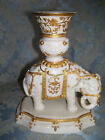Very Old 1880; Very Rare Royal Worcester Elephant Vase/Candle Holder